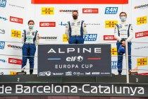 Barcelona: Tweemaal podium voor Ugo de Wilde in Alpine Elf Europa Cup