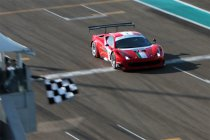 Gulf 12H: AF Corse aan de leiding na eerste wedstrijdhelft