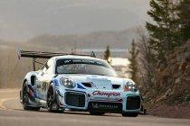 Romain Dumas' Champion Racing Pikes Peak Porsche getoond