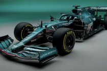 Aston Martin F1 toont 2021-uitdager
