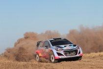 Thierry Neuville met Hyundai i20 WRC in de East Belgian Rally