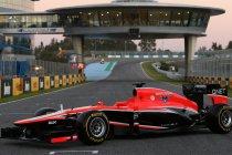 Marussia goes KERS met MR02 (+Foto's)