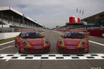 Dylan Derdaele tweemaal in het voorprogramma van de F1 in Porsche Supercup