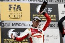 F3 Macau:Alex Lynn wint na de kwalificatierace ook de hoofdrace