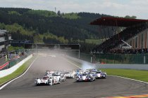 6H Spa: Start en begin race: Porsche blaast warm en koud