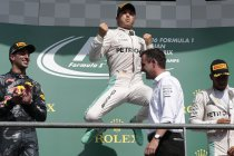 België: Rosberg wint Belgisch spektakelstuk - Magnussen ontsnapt aan erger
