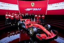 Ferrari presenteert knalrode SF71H