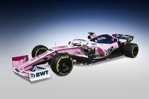 Racing Point F1 blijft racen in het roze