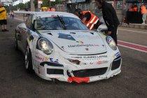 Newsflash:24H Zolder: Speedlover Porsche #33 crasht op oliespoor Hamofa BMW