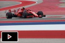 Enthousiaste fan zorgt voor hilariteit tijdens Amerikaanse GP
