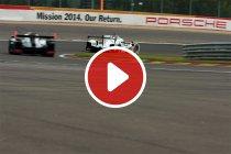 Video: Audi verwelkomt zustermerk Porsche in Le Mans