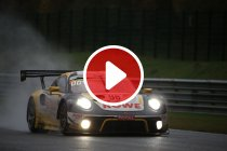 Video: 24H Spa: Het moment waarop de Rowe Racing Porsche problemen kreeg