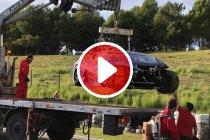 Gerard Van der Horst vroegtijdig uitgeteld na zware crash (+ video)