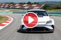 Mattias Ekström werkt eerste test af met CUPRA e-Racer (+ video)