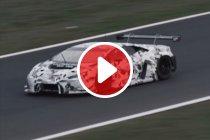 Video: Lamborghini Huracán GT3 maakt eerste meters