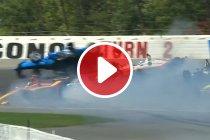 Video: Spectaculaire crash in openingsronde IndyCar-manche Pocono